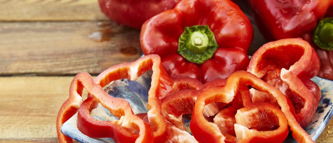 Rote Paprika - Pimiento rojo