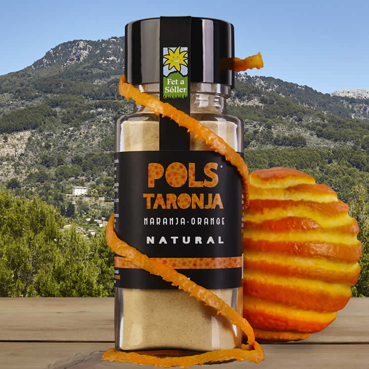 Pols fine-ground orange peel 60 g