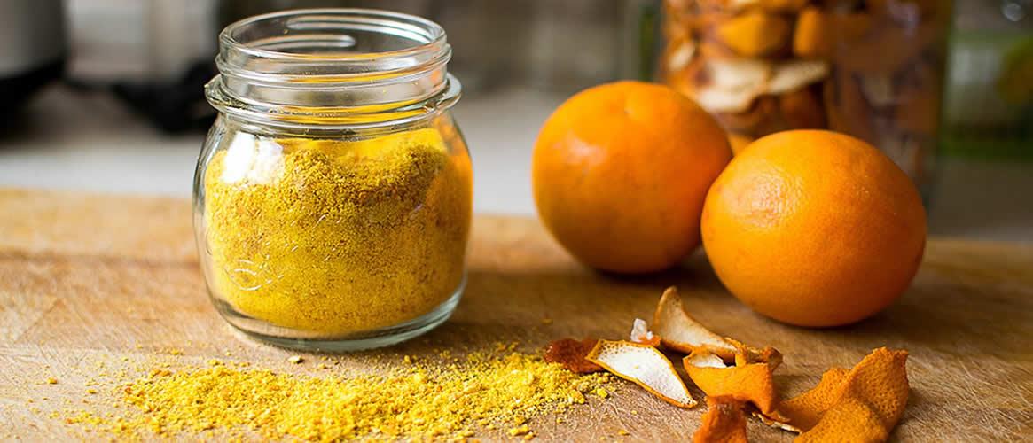 Pols fein gemahlene Orangenschale 20g