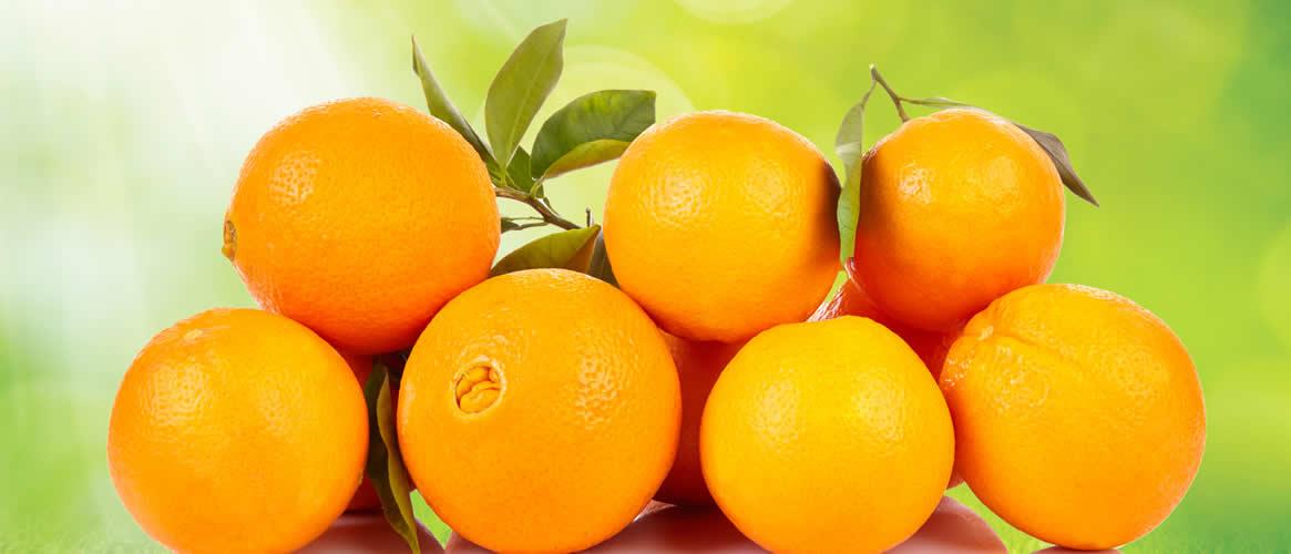 Navelina Orangen 10kg Kiste