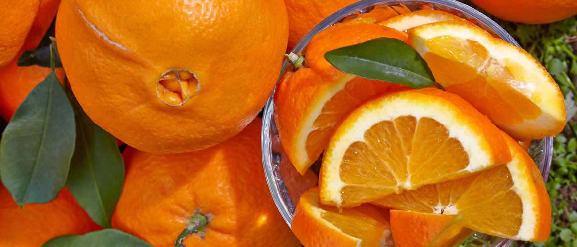 Navel Orangen 10kg Kiste