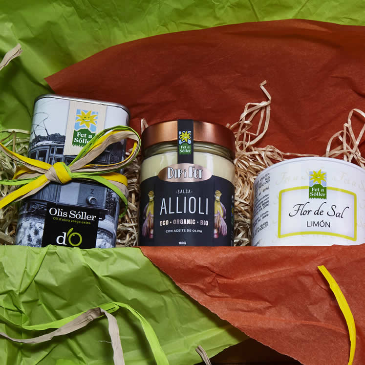 """Typical mallorquin"" gift box"