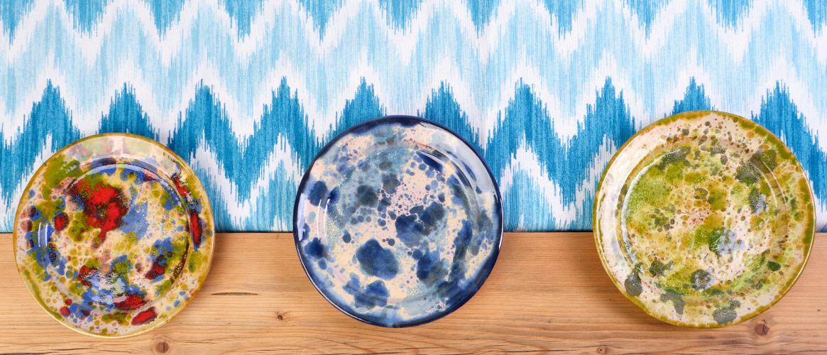 Handmade Ceramic Plate 19 cm