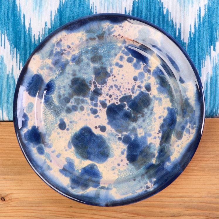 Handgemachte Keramikteller 19 cm