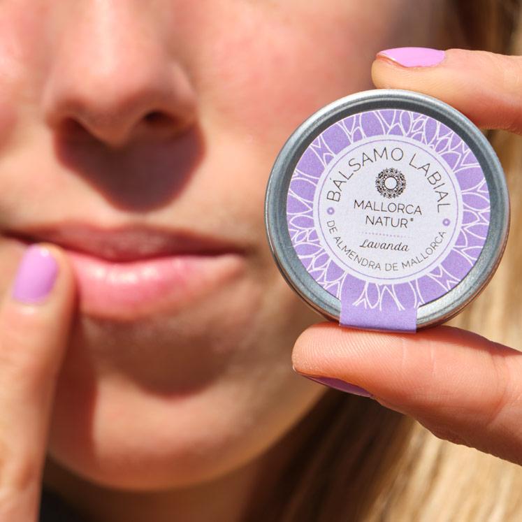 Jabón de Mallorca BIO Lippenbalsam Lavendel
