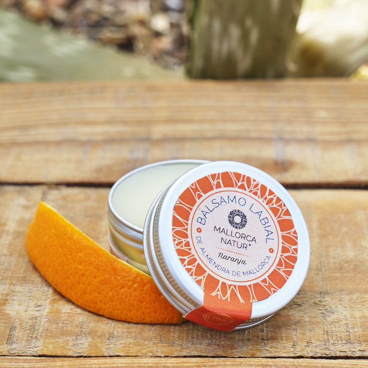 Jabón de Mallorca BIO Lip Balm Almond & Orange