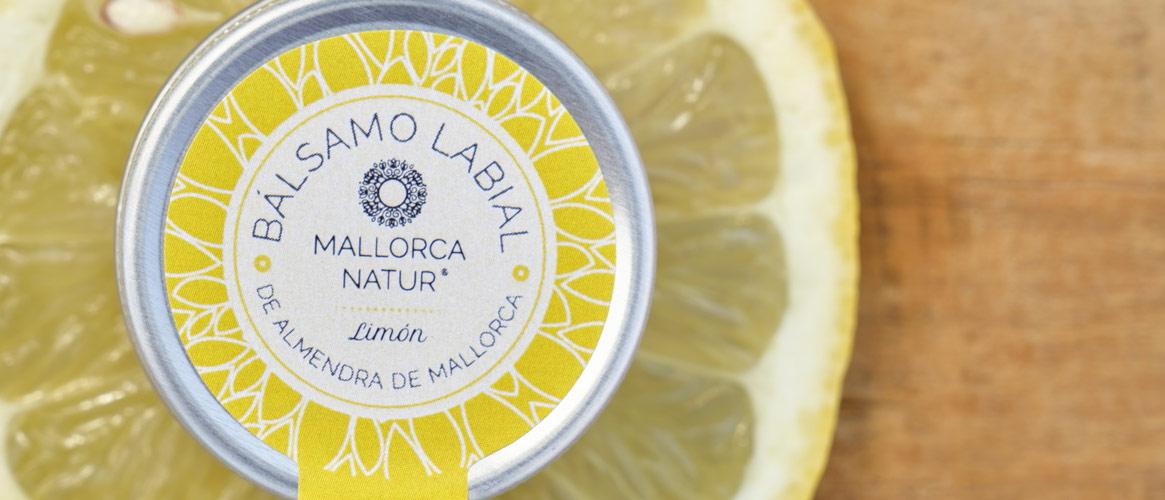 Jabón de Mallorca BIO Lip Balm Almond & Lemon