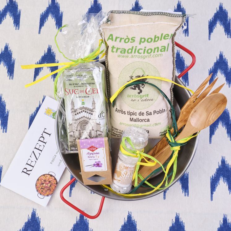 Paella Geschenk Set