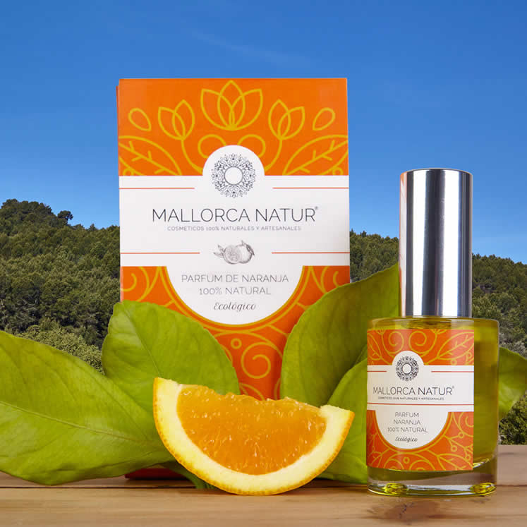 Mallorca Natur Bio parfum à l'orange 30 ml