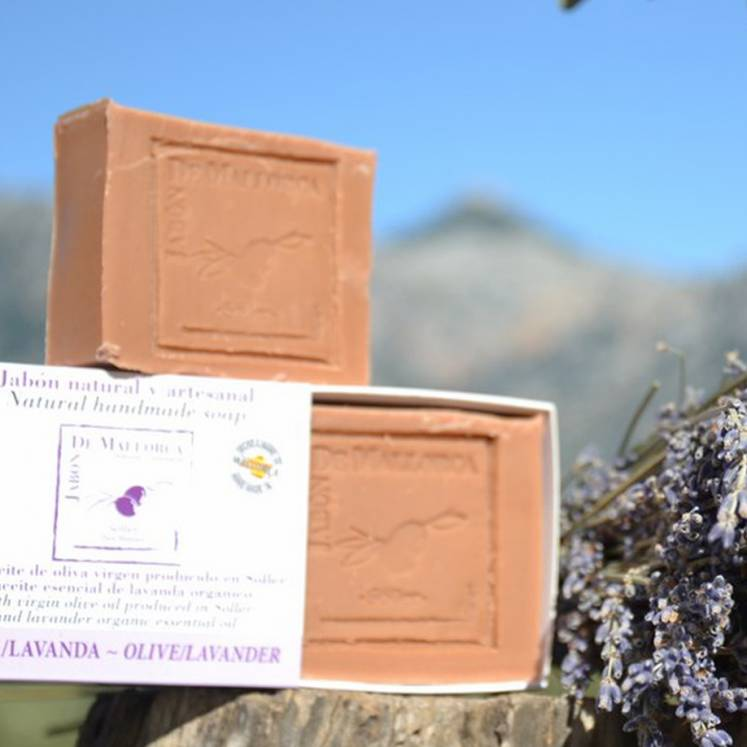 Jabón de Mallorca olive oil soap with lavender