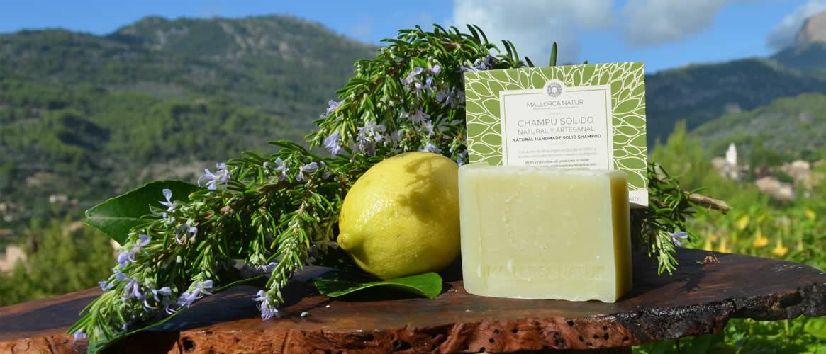Jabón de Mallorca Olivenöl Shampoo limon