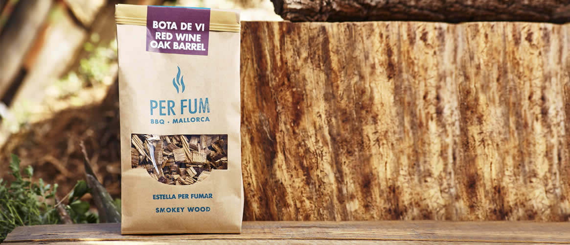Per Fum wood chips from wine barrels