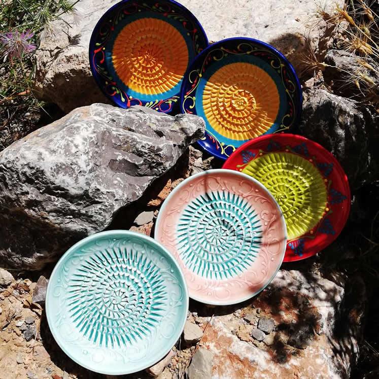Rallador - Keramikreibe für Knoblauch