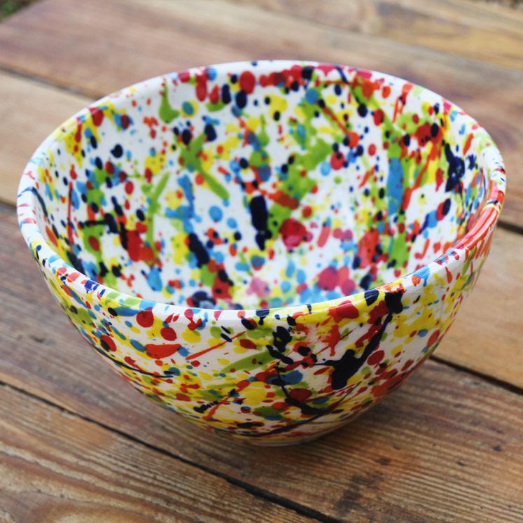 Cuenco Keramikschüssel aus Mallorca 17cm