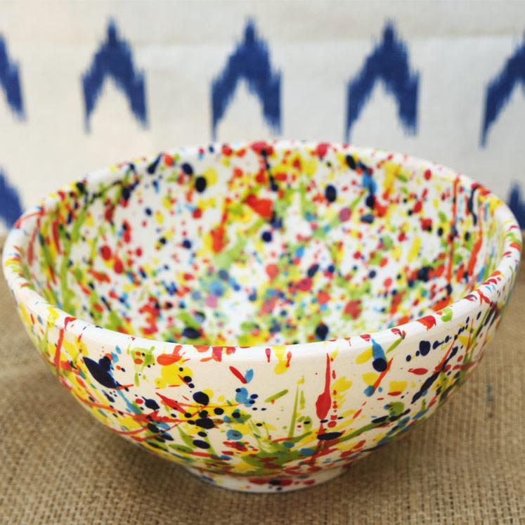 Cuenco Keramikschüssel aus Mallorca 22cm