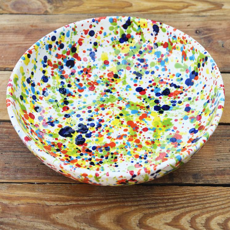 Cuenco Keramikschüssel aus Mallorca 27cm