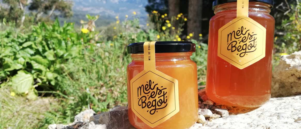 Mel Es Begot Miel de abejas 500gr