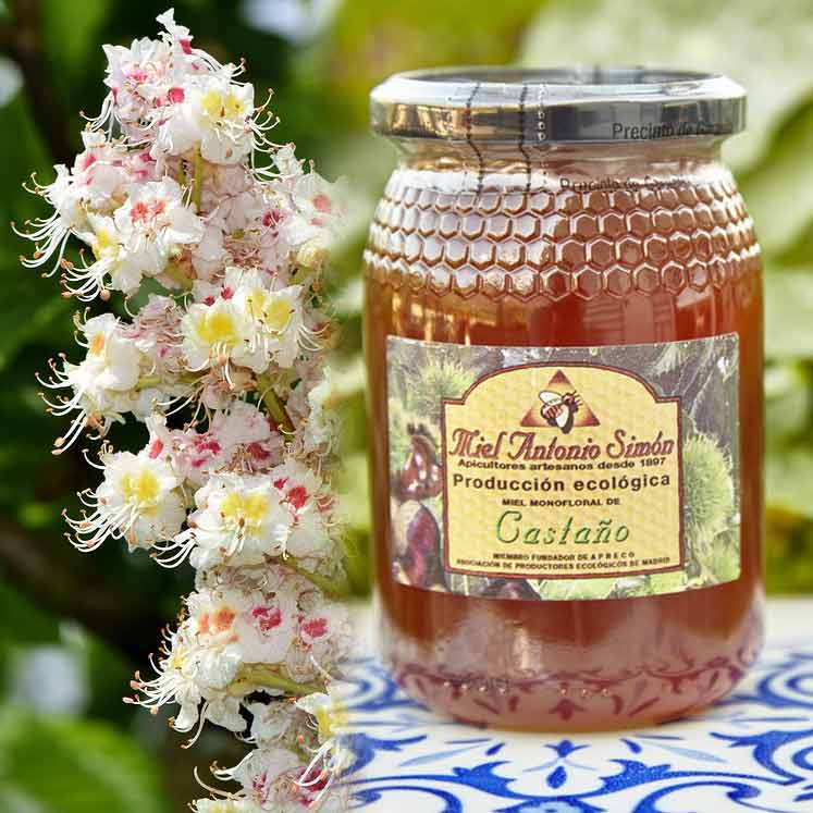 Antonio Simon organic chestnut honey
