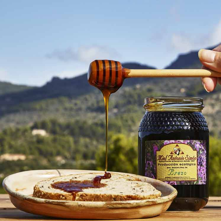 Antonio Simon organic heather honey
