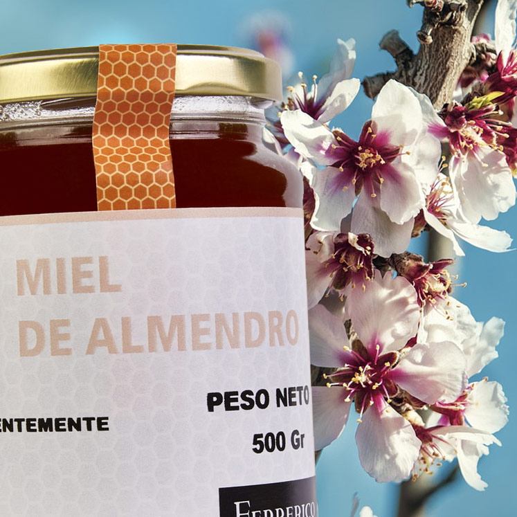 Almond flower honey Miel de Almendro