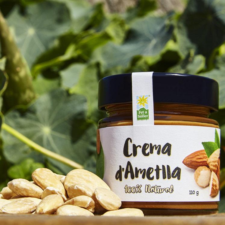 Crema d'ametlla, almond spread