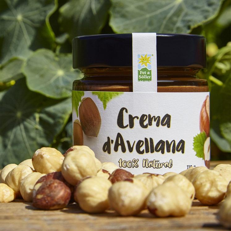 Crema d'avellana, hazel nut spread