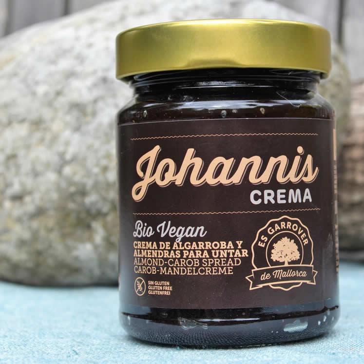 Johannisbrot Mandelcreme Bio