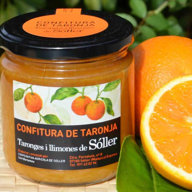 Orange marmelade Sant Bartomeu