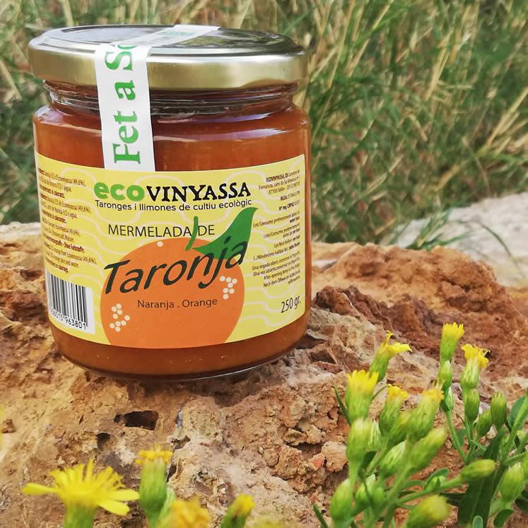 Bio Orangenmarmelade Ecovinyassa