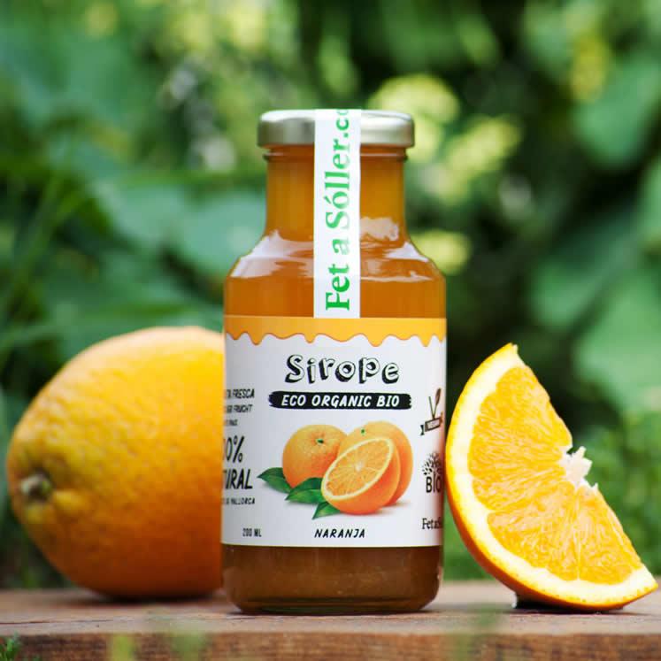 Sirope Bio Orangensirup
