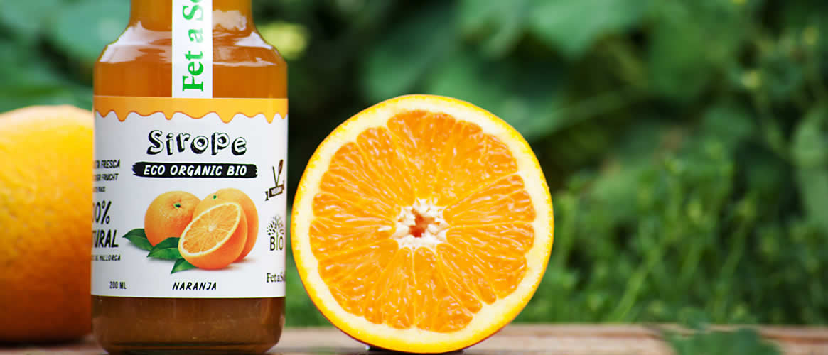 Syrup Organic orange sirup
