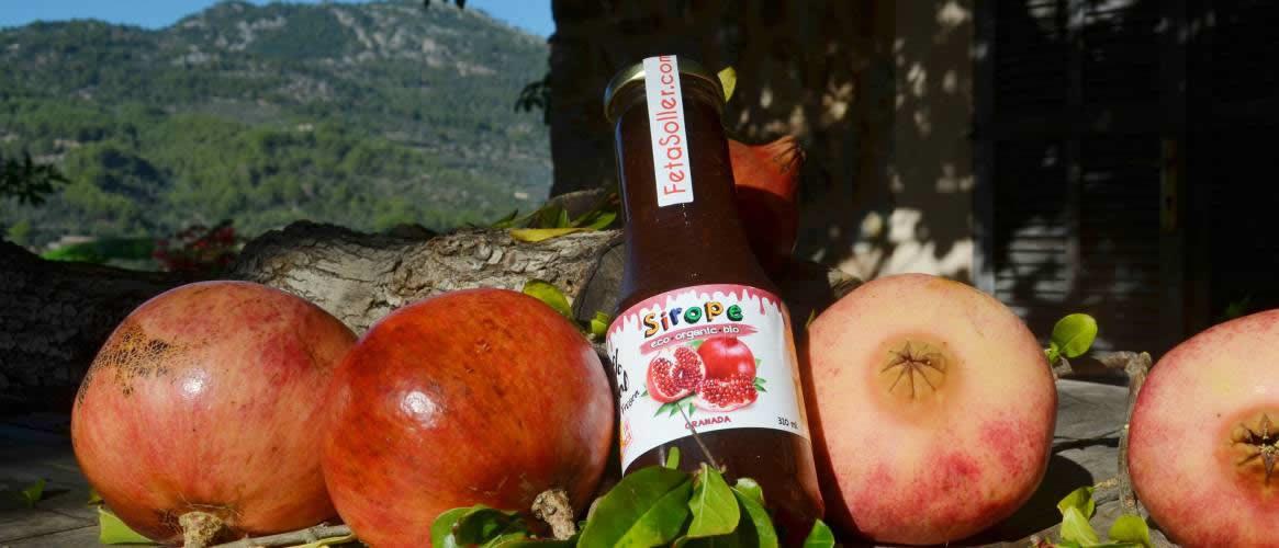 Syrup Organic Pomegranate