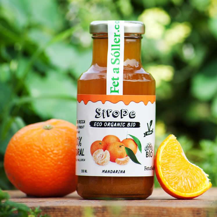 Sirope Bio Mandarinensirup