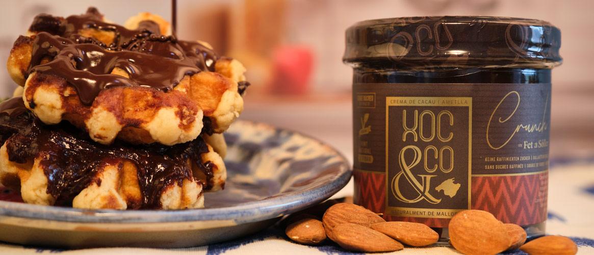 XOC&CO Kakaocreme mit Mandeln CRUNCH, Vegan