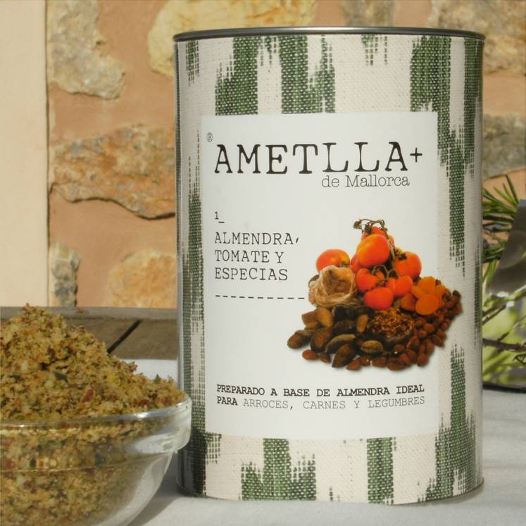Ametlla+ de Mallorca almond herb mixture 1