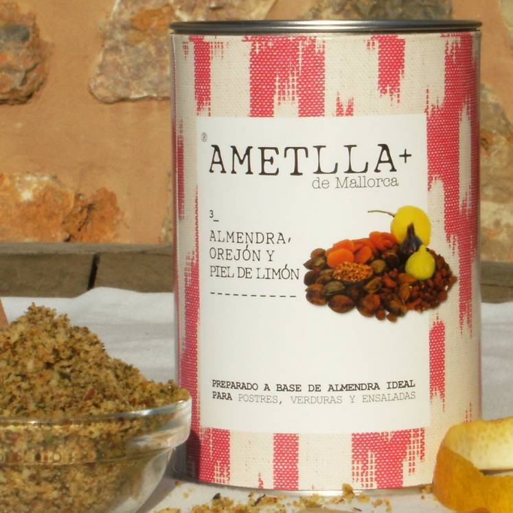 Ametlla+ de Mallorca Almond herb mixture 3