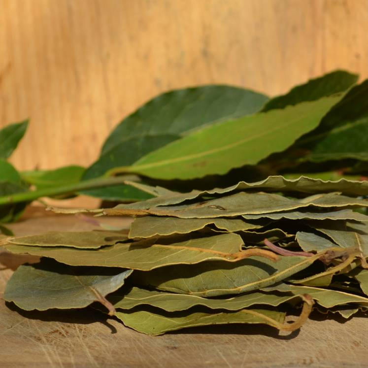 Llorer, dried Organic Bay leaves
