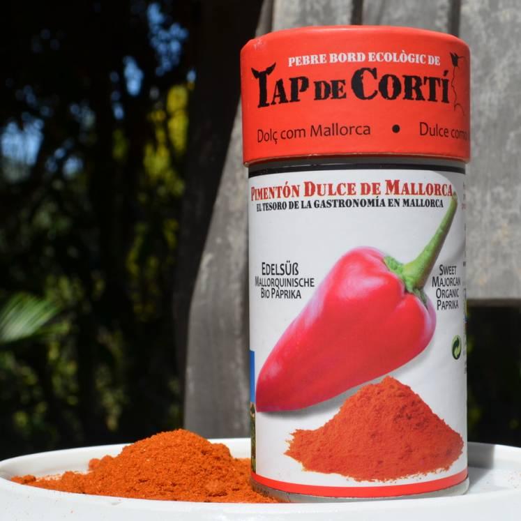 Tap de Cortí süßes Bio Paprika Gewürz