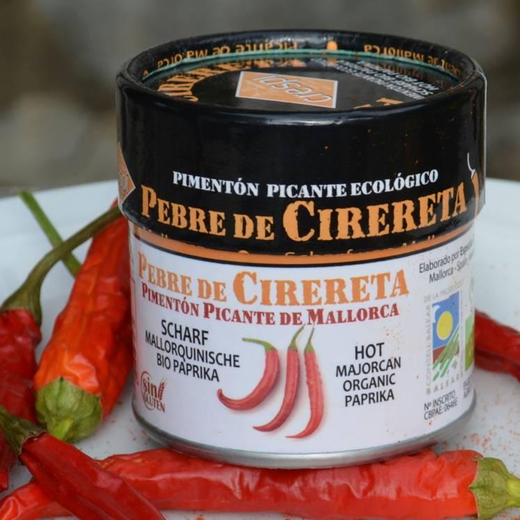 Pebre de Cirereta, Scharfes Bio Paprikagewürz