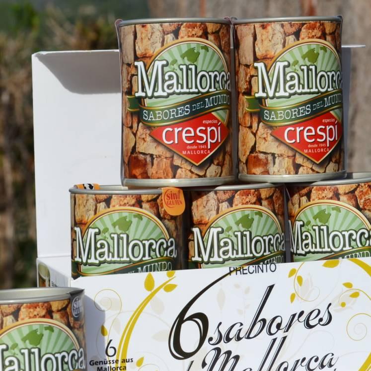Mallorca Sabores del Mundo Sechs Gewürze aus Mallorca