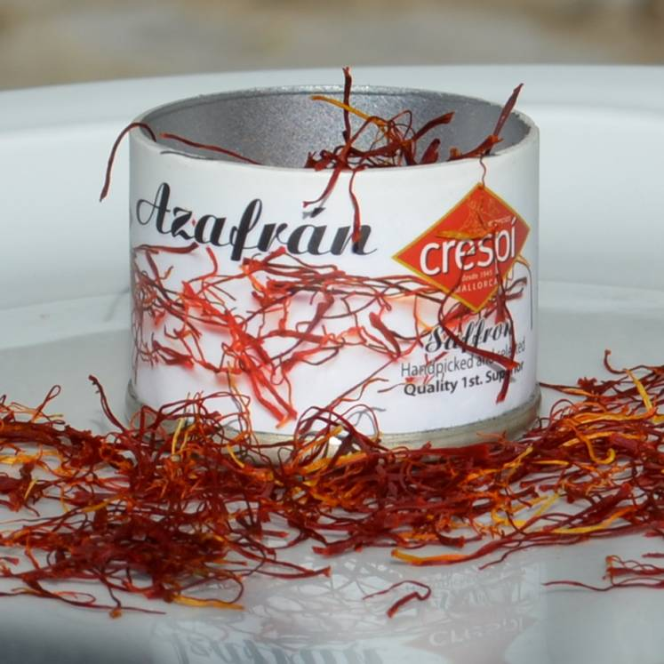 Azafrán, genuine saffron from Mallorca