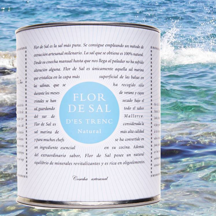 12 x Flor de Sal sea salt natural