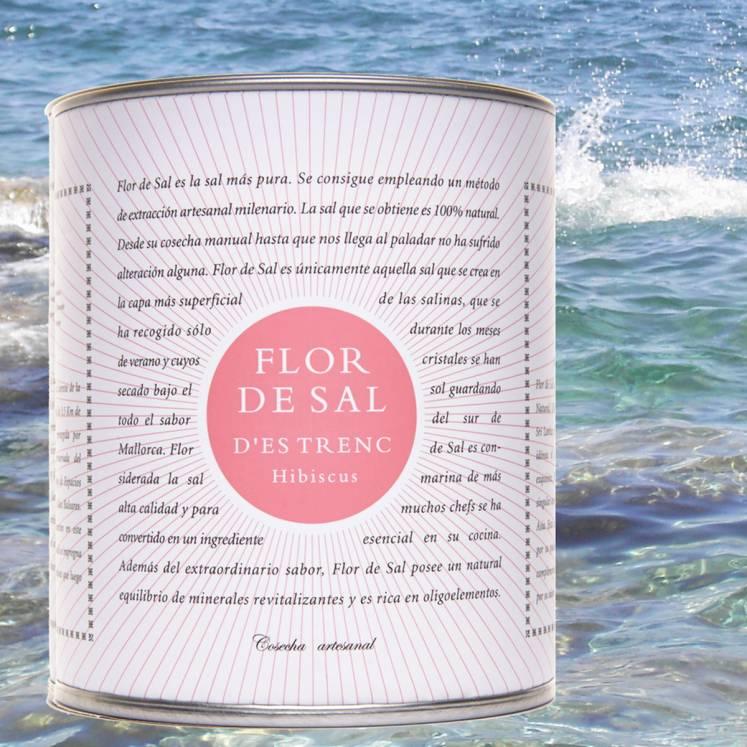 Flor de Sal Salzblume Bio mit Hibiskus