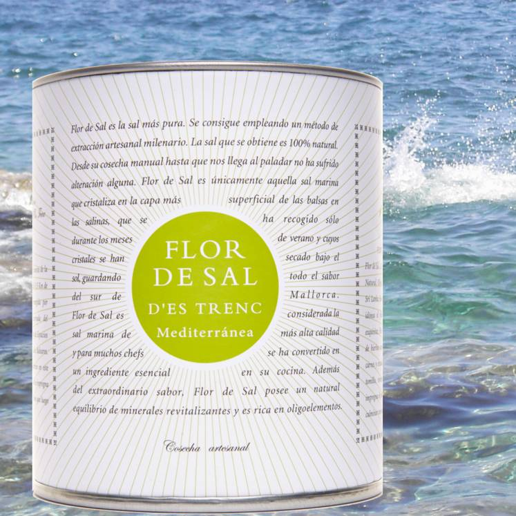 Flor de Sal Salzblume Bio mediterran