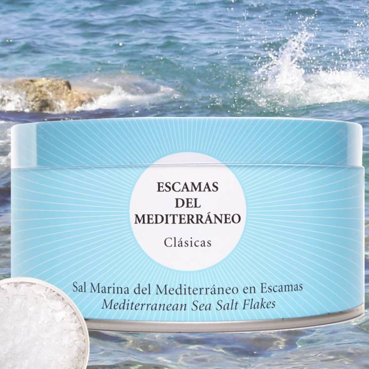 Flor de Sal Bio Escates del Mediterrani  feine Salzflöckchen