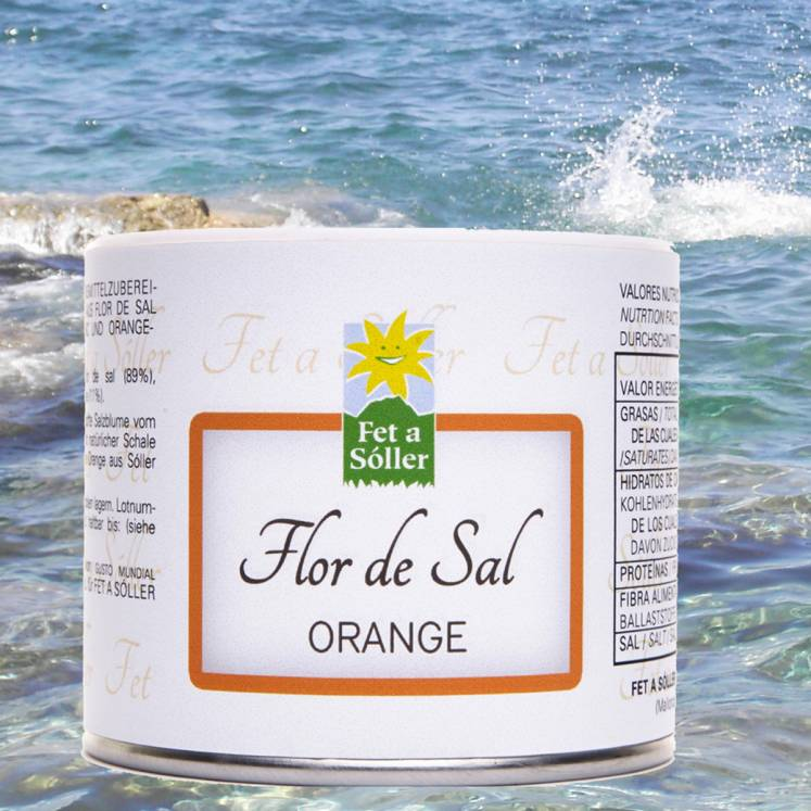 Flor de Sal Salt Flower Orange