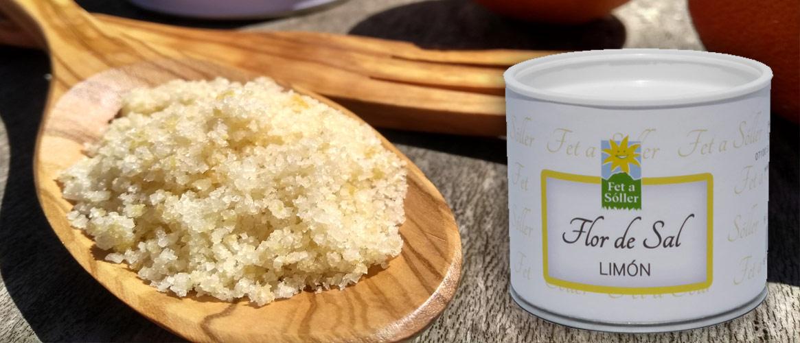 Fet a Sóller Flor de Sal Bio Salzblume mit Zitrone