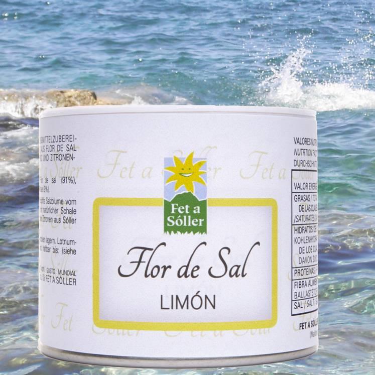 Fet a Sóller Flor de SalFleur de sel au citron