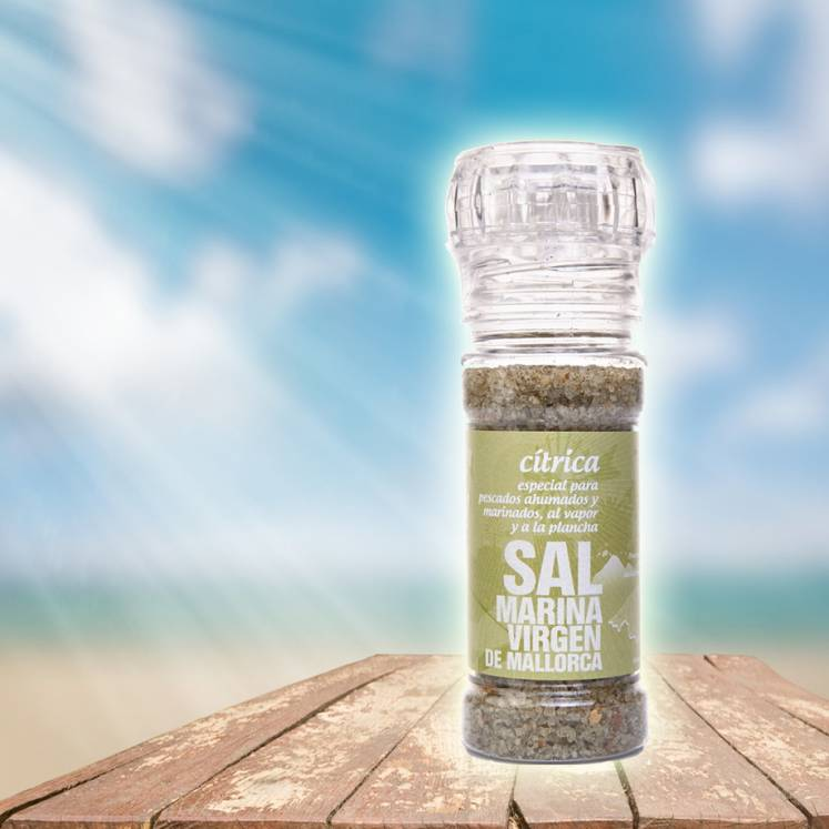 Sal Marina Virgen de Mallorca sea salt lemon mill