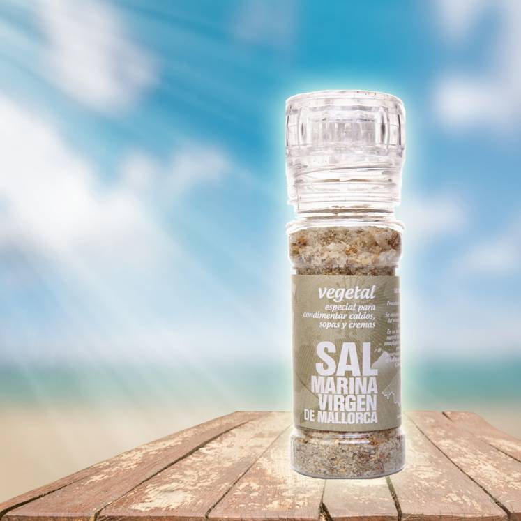 SalMarina Virgen de Mallorca sea salt herbs and vegetables